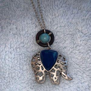 Xc Jewelry - 2/$15 Xc elephant necklace blue